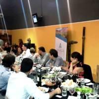 Con un asadazo en lo de Joaquín Alberdi, Bodega Altupalka presentó sus vinos de extrema altura
