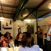 Volvimos a las charlas en la Bodega de Bórbore de la mano de Ernesto Catena!!!