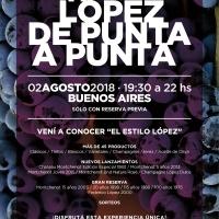 Ya llega la 11ª Degustación Anual de LÓPEZ de Punta a Punta