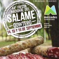 Ya se viene la nueva edición de la gran Fiesta Nacional del Salame Quintero en Mercedes!! Imperdible