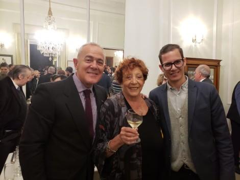 Martin Wullich, Elisabeth Checa y Artur Rotela