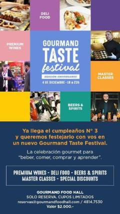 Gourmand Food festival